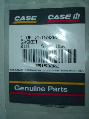 Distributor gear cover gasket