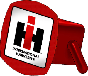 International Harvester IH trailer hitch cover