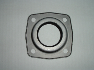 Rear axle oil seal with housing