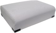 Deluxe seat base cushion (silver)