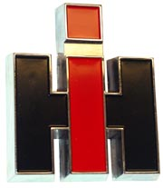 Front IH Emblem, Die Cast (late style)