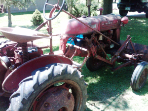 1953 Farmall Cub and Implements
