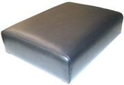 Deluxe seat base cushion (black)