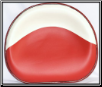 Seat  Red and White Vinyl (SKU: FTC029A)