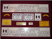 Farmall Cub Decal Set, Mid-Early Production (SKU: DEC090)