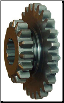 2nd/3rd Sliding Gear, Newer Style w/ 16 and 26 teeth (SKU: FTC012)