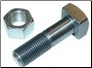 Cub rear rim to wheel center bolt and nut (SKU: FTC822)