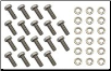 Radiator Core Bolt and Washer Kit (SKU: FTC951)