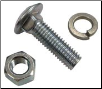 Front Wheel Weight Mounting Carriage Bolt, Nut, & Washer Set (SKU: FTC957)