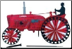 Farmall H Tractor Yard Spinner