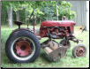 1953 Farmall Cub with Implements