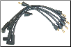 Ignition Wire Set for all 4-cylinder Farmall Tractors (SKU: FTC799)