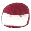 Red and White Vinyl Drawstring Seat Cover (SKU: MIS006B)
