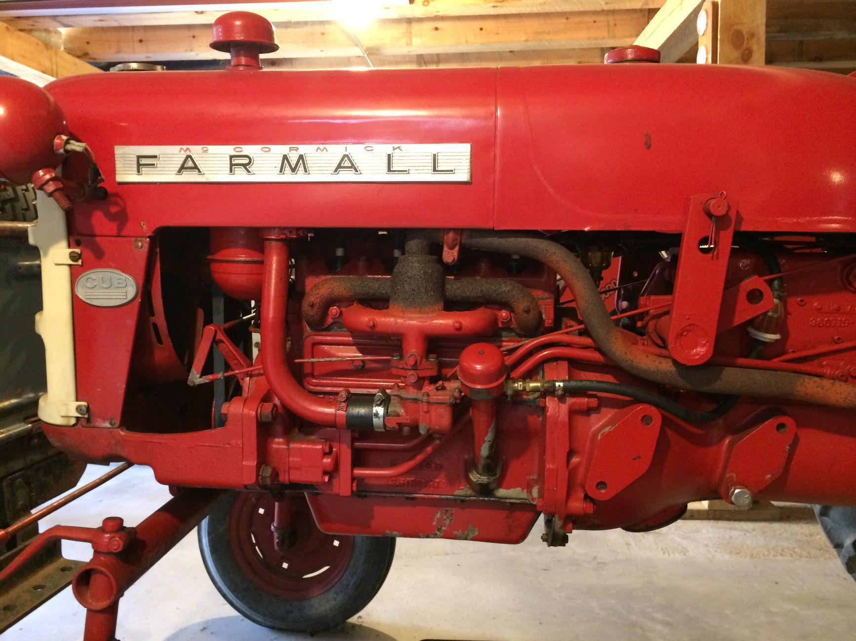 1963 Farmall Cub for Sale